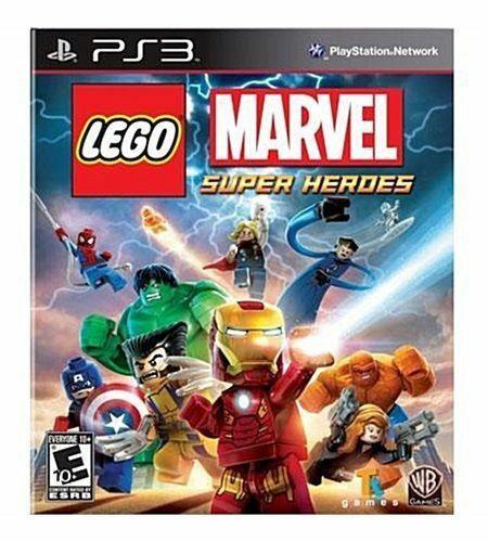 Usado Jogo PS3 LEGO Marvel Super Heroes - Warner Bros Games