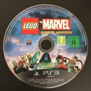 Jogo PS3 LEGO Marvel Super Heroes (Loose) - Warner Bros Games