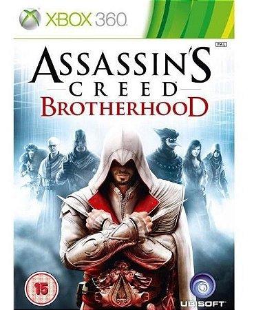 Jogo Xbox 360 Assassins Creed Brotherhood - Ubisoft