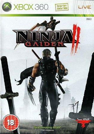 Usado Jogo Xbox 360 Ninja Gaiden 2 - Tecmo