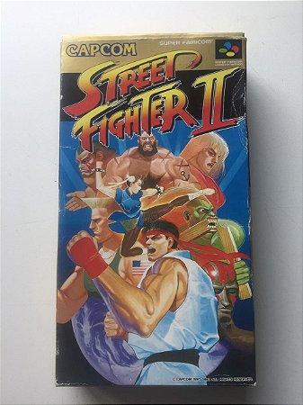 Usado Jogo Super Famicom Super Street Fighter 2 SHVC-S2 Na Caixa- Capcom