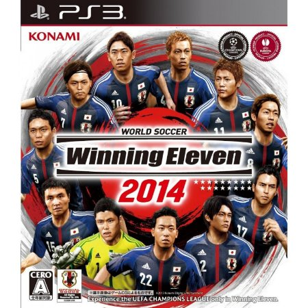 Usado Jogo PS3 Winning Eleven 2014  Japonês - Konami