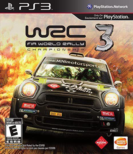 Usado Jogo PS3 WRC FIA World Rally Championship 3 - Bandai Namco