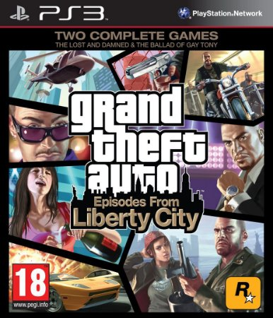 Usado Jogo PS3 Grand Theft Auto: Episodes From Liberty City - Rockstar