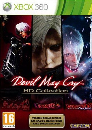 Usado Jogo Xbox 360 Devil May Cry HD Collection - Capcom