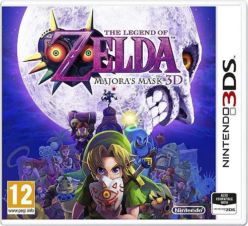 Usado Jogo Nintendo 3DS The Legend of Zelda: Majora's Mask 3D - Nintendo