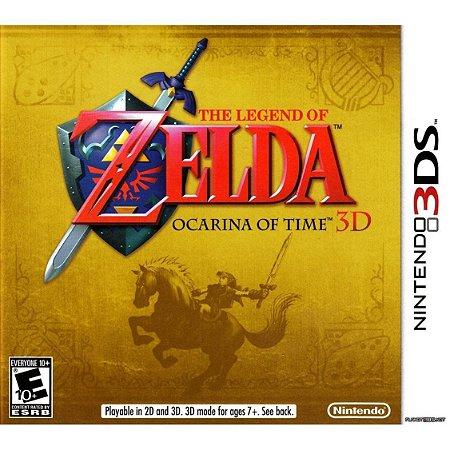 Usado Jogo Nintendo 3DS The Legend of Zelda: Ocarina of Time 3D - Nintendo