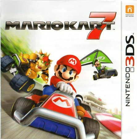 Jogo Nintendo 3DS Mario Kart 7 - Nintendo