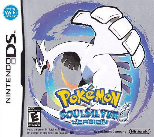 Jogo Nintendo DS Pokemon Soul Silver - Nintendo