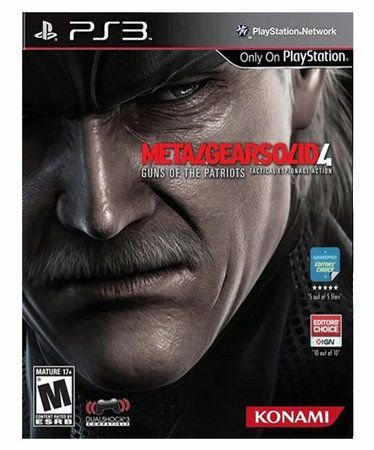 Usado Jogo PS3 Metal Gear Solid 4: Guns of the Patriots - Konami
