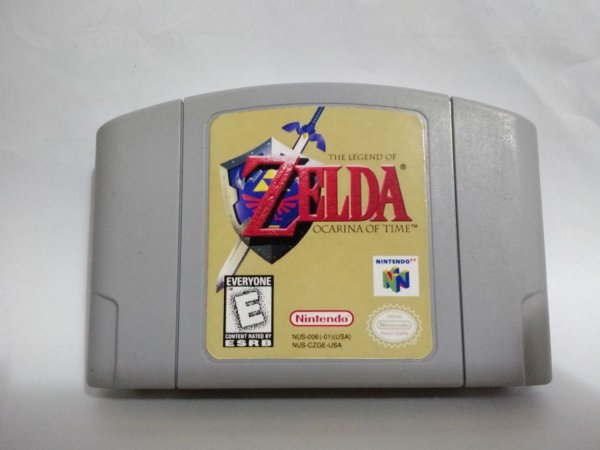 Usado Jogo Nintendo 64 The Legend Of Zelda Ocarina of Time - Nintendo