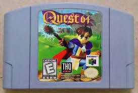 Usado Jogo Nintendo 64 Quest 64