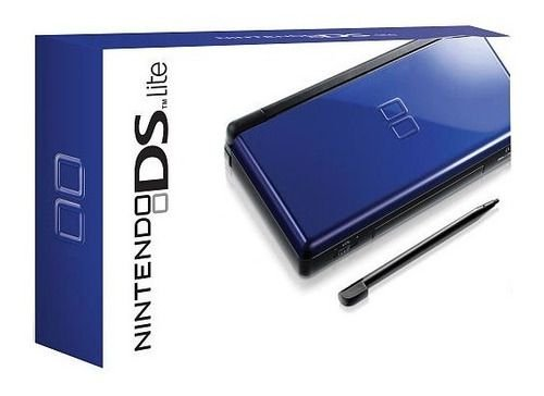 Usado Console Nintendo DS Lite Azul + R4 - Na Caixa - Nintendo
