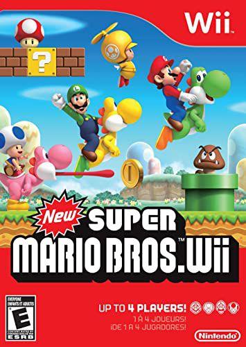 Jogo Nintendo Wii New Super Mario Bros Wii - Nintendo