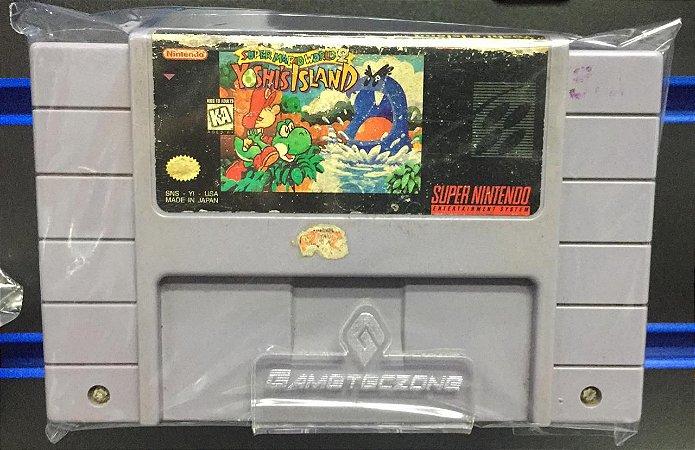 Jogo Super Nintendo Super Mario World 2: Yoshi's Island - Nintendo