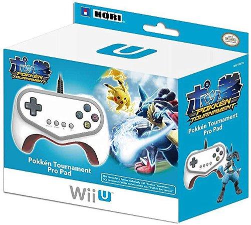 Controle Pokken Tournament Pro Pad Wii U - Hori