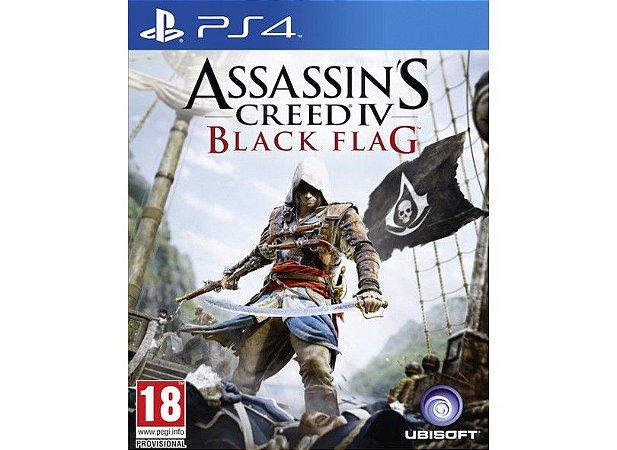 Usado Jogo PS4 Assassins Creed 4 Black Flag - Ubisoft