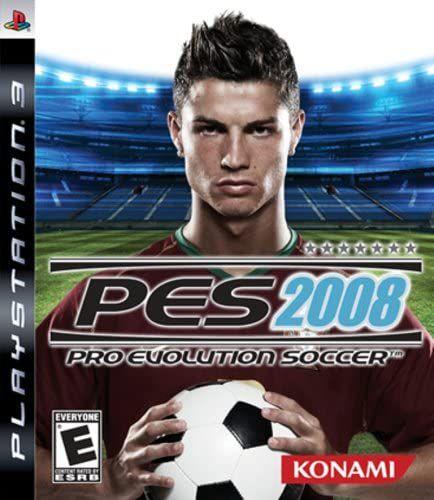 Usado Jogo PS3 Pro Evolution Soccer 2008 PES 2008 - Konami