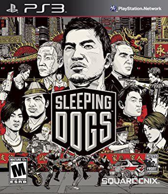 Usado Jogo PS3 Sleeping Dogs - Square Enix