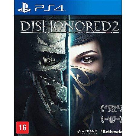 Jogo PS4 Dishonored 2 - Bethesda