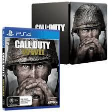 Usado Jogo PS4 Call of Duty WWII SteelCase - Activision