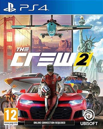 Usado Jogo PS4 The Crew 2 - Ubisoft