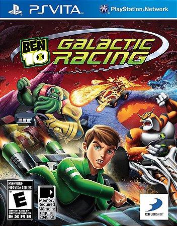 Usado Jogo PS Vita Ben 10 Galactic Racing - D3 Publisher