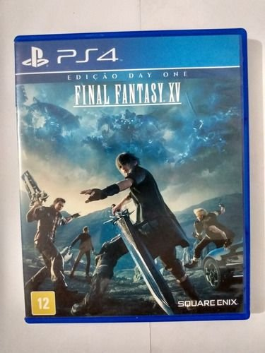 Jogo PS4 Final Fantasy XV 15 - Square Enix