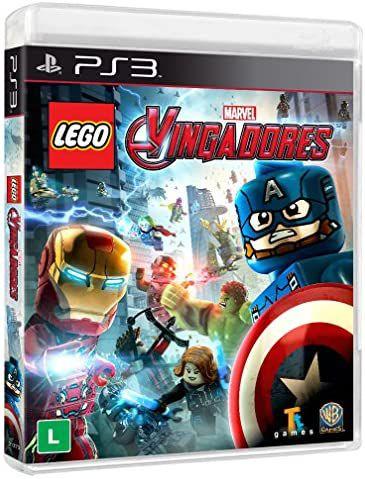 Jogo PS3 Lego Vingadores - Warner Bros Games
