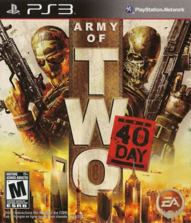 Usado Jogo PS3 Army Of Two The 40th Day - EA
