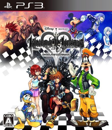 Usado Jogo PS3 Kingdom Hearts HD 1.5 ReMIX - Square Enix