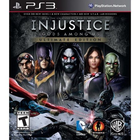Usado Jogo PS3 Injustice: Gods Among Us - Warner Bros Games