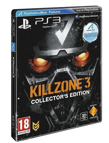 Usado Jogo PS3 Killzone 3 Collectors Edition Steelcase Sony