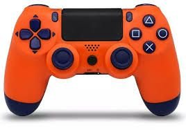Usado Controle PS4 Dualshock 4 Laranja Sunset - Sony
