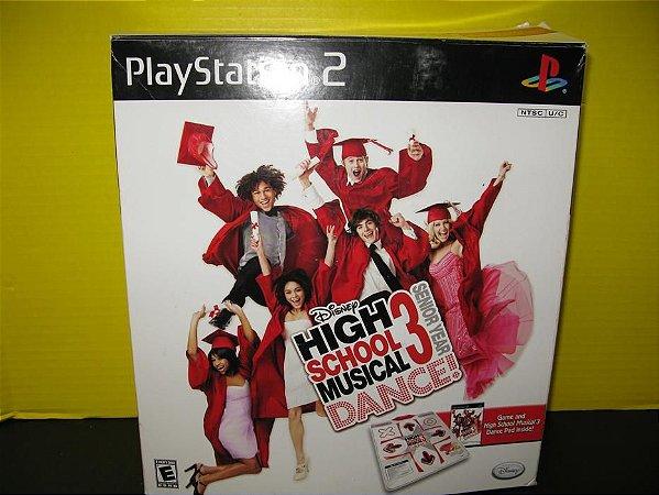 Usado Jogo PS2 Disney High School Musical 3 Dance! + Tapete - Disney