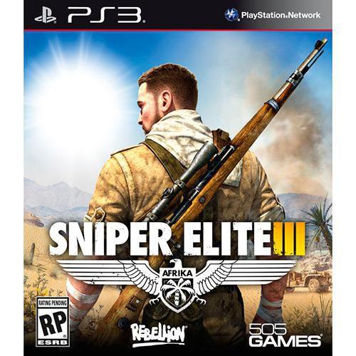 Jogo PS3 Sniper Elite 3 - Rebellion