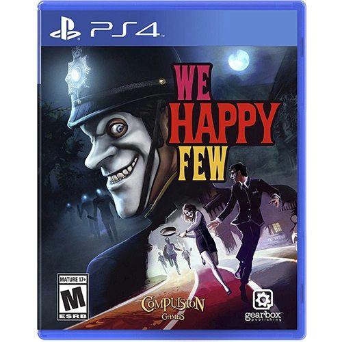 Usado Jogo PS4 We Happy Feel - Gearbox