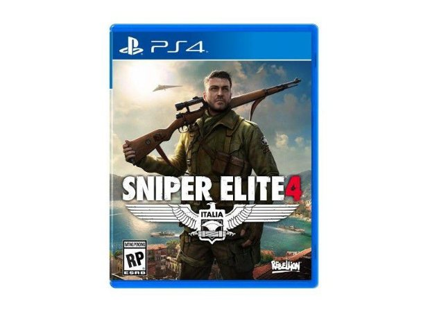 Usado Jogo PS4 Sniper Elite 4 Italia - Rebellion