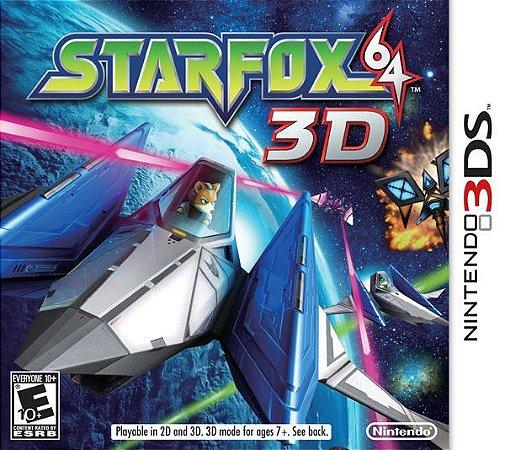 Usado Jogo Nintendo 3DS Star Fox 64 3D - Nintendo