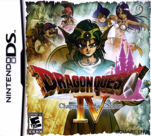 Jogo Nintendo DS Dragon Quest IV Chapters Of The Chosen - Square Enix