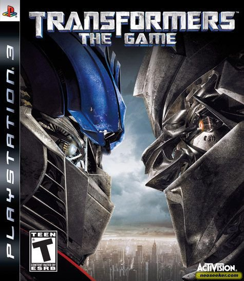 Jogo PS3 Transformers The Game - Activision
