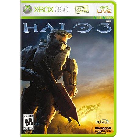 Usado Jogo Xbox 360 Halo 3 - Microsoft