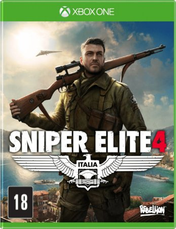 Usado Jogo Xbox One Sniper Elite 4 Italia - Rebellion