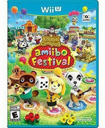 Jogo Nintendo Wii U Animal Crossing: Amiibo Festival - NIntendo