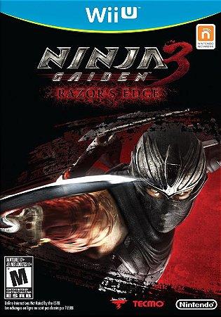 Usado Jogo Nintendo Wii U Ninja Gaiden 3 Razor's Edge - Tecmo
