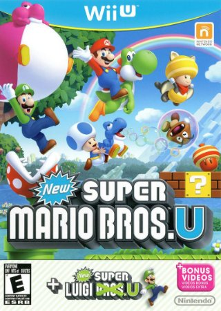Usado Jogo Nintendo Wii U New Super Mario Bros. U + New Super Luigi. U - Nintendo