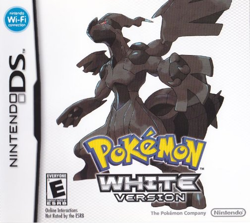 Usado Jogo Nintendo DS Pokemon White Version 1 - Nintendo