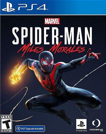 Jogo PS4 SpiderMan Miles Morales - Sony