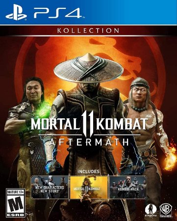 Jogo PS4 Mortal Kombat 11 Aftermatch Collection - Warner Bros Games