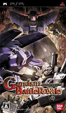 Usado Jogo PSP Gundam  Battle Royale (Japones) - Bandai